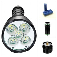 Super Bright Skyray King 3 X CREE XM L T6 LED Flashlight Waterproof 4000Lm LED Torch