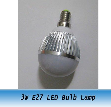 High Power LED Bulb Light 3W E27 270-300LM Energy Saving Lamp 1 - Luyu Store store