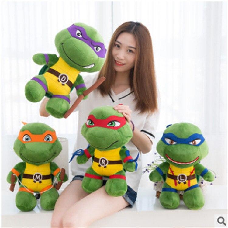 40cm Ninjaed God Turtle Plush Toy Stuffed Animal Plush Toys Creative Birthday Gift Children Gifts Japanese Anime Characters R065