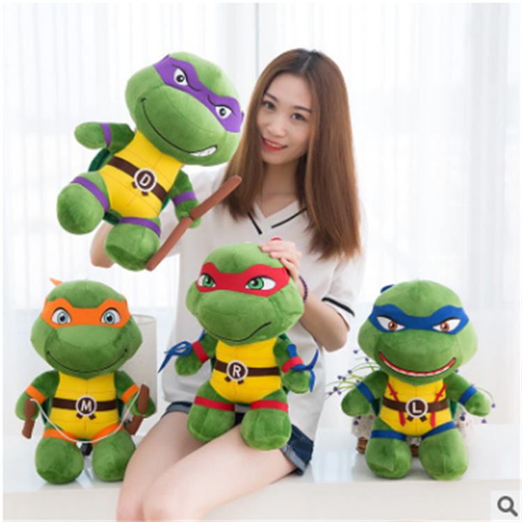 40cm Ninjaed God turtle plush toy stuffed animal plush toys creative birthday gift children gifts Japanese anime characters R065 image