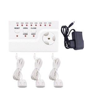 Image 2 - Идентификатор утечки воды WLD 806 Hidaka система сигнализации для домашней безопасности с 2 шт. DN15 детектор утечки воды