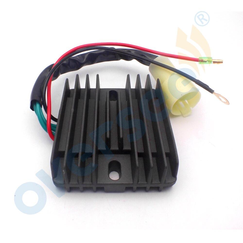 The ROP Shop Voltage Regulator Rectifier for Yamaha 80-100 HP 4 Stroke 67F-81960-12-00 Motor