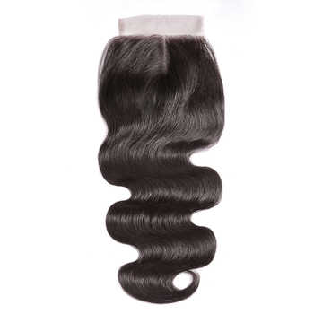 CEXXY 5x5 Lace Closure Brazilian Body Wave 8-20 Inch Human Hair Closure Natural Color Swiss Lace Closure Human Remy Hair