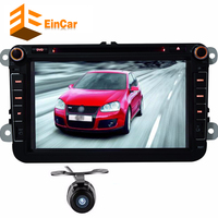 Android 4 4 Car DVD GPS Navigation Player For Volkswagen GOLF 5 6 POLO JETTA TOURAN