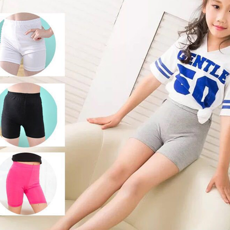 Summer Girls Safety Lace Shorts Pants Underwear Leggings Girl Boxer Briefs Short Beach Pant For Female 3-13 Years Old