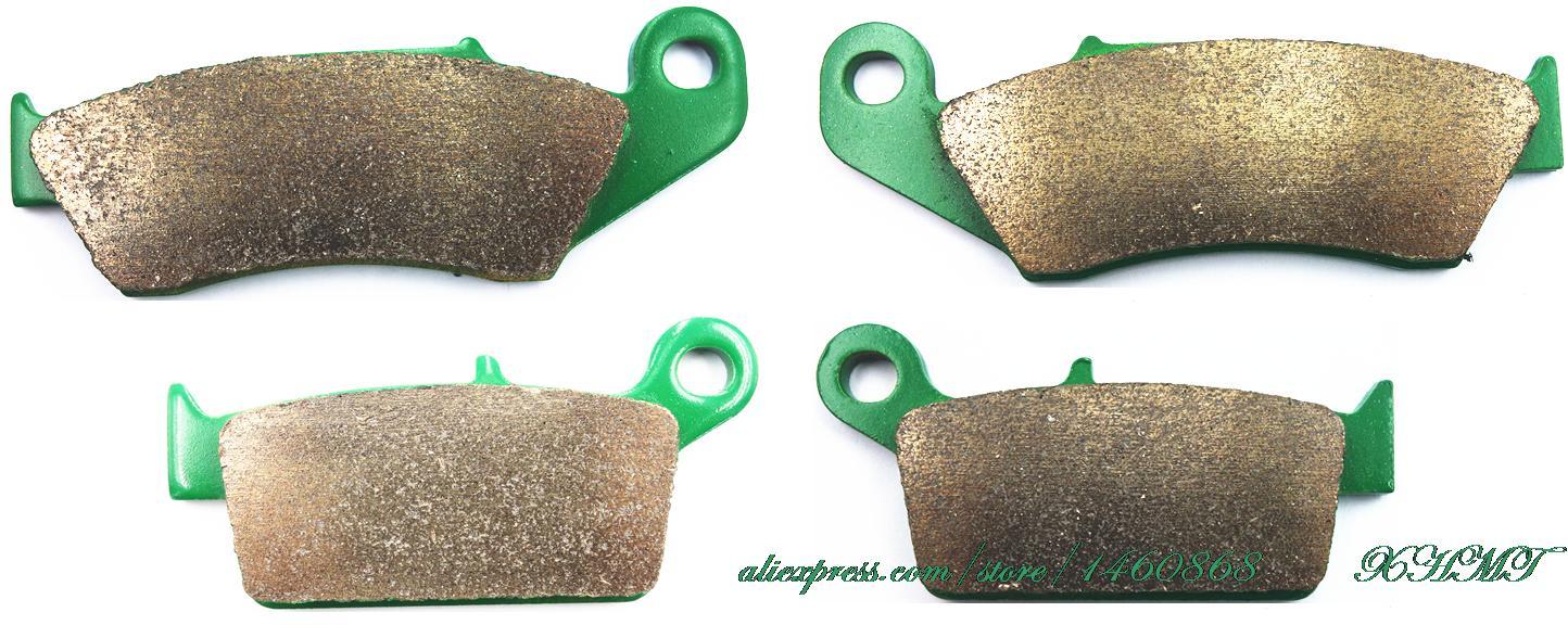 Brake Pads Set For Honda Xr 250 R 1994 &Up/ Xr400 400 R 1996 &Up/ 400 Supermotard 2000 &Up/ 440 R ( Dall'ara ) 1999 &Up