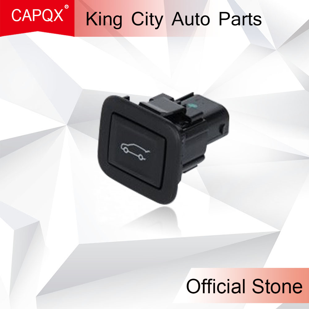 CAPQX Rear Trunk Boot Release Opening Swtich Button For Cadillac SRX 2010  2011 2012 2013 2014 2015 2016 XT5 2017 CTS 2009-2013