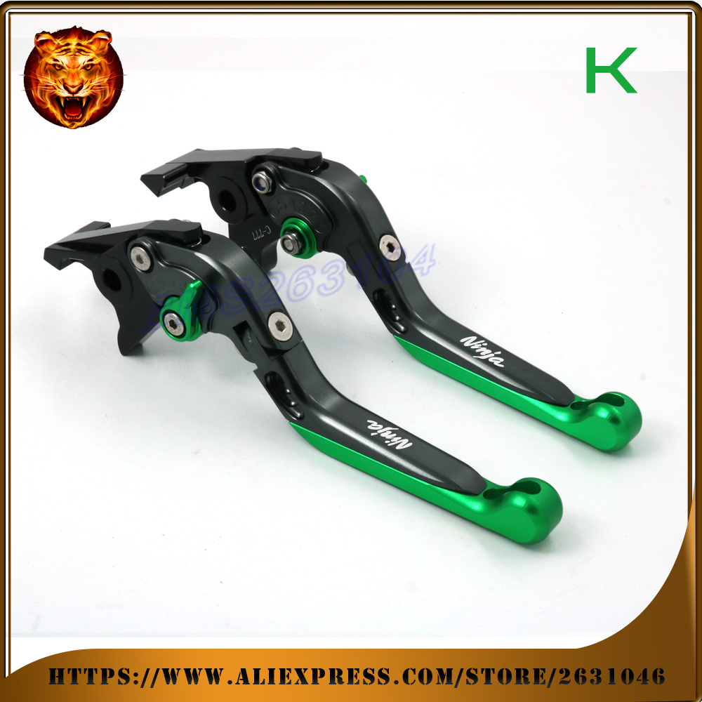Motorcycle Adjustable Folding Extendable Brake Clutch Lever For kawasaki zx7r zx7rr zx9 zx1100 zx-11 zrx1100 1200 zzr1200 zg1000 adjustable folding extendable brake clutch levers for kawasaki versys 1000 w800 zzr1200 zrx1100 1200 8 colors