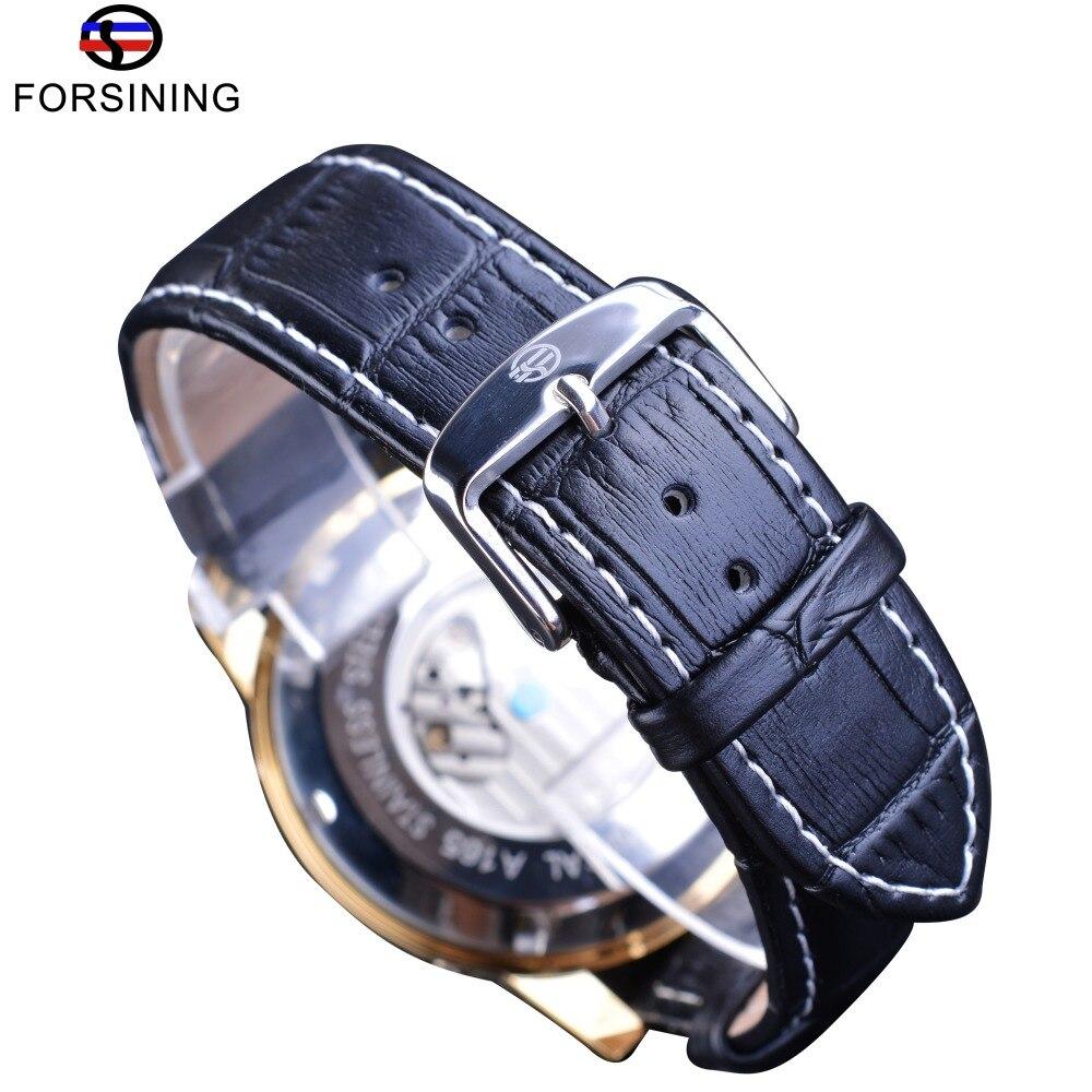Forsining Golden Bezel Tourbillion Ανδρικά ρολόι - Ανδρικά ρολόγια - Φωτογραφία 5