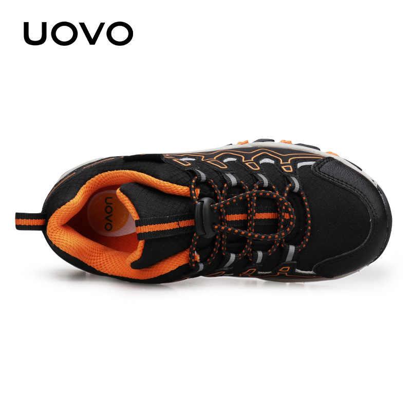 Uovo 2020 Nieuwe Jongens Sport Schoenen Herfst Kinderen Outdoor Schoenen Ademend Kinderen Wandelschoenen En Najaar Sneakers Eur #28-39