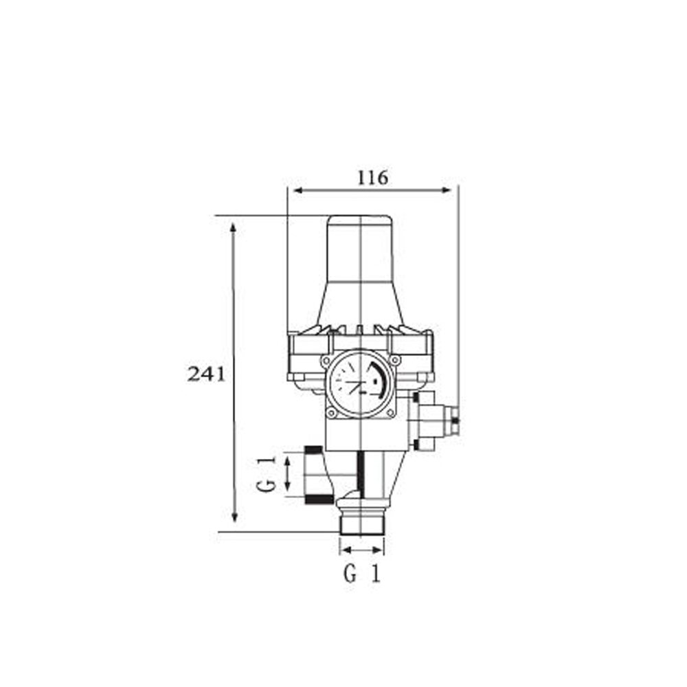 hight resolution of all adjusting water pump pressure switch
