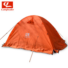 outdoor 2-3 people double tent round aluminum pole tent Survival in the wild, mountain climbing hiking camping tent