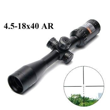 4.5-18x40 AR/223 التكتيكية نطاق بندقية الهواء الطلق شبكاني البصرية البصر الصليب Riflescope طويل المسافة الصيد نطاقات