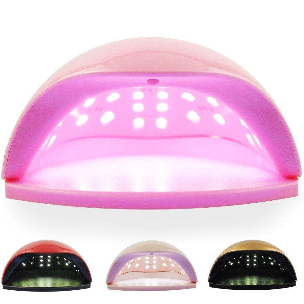 COSCELIA Lamp For Nails 48W Nail Dryer UV Lamp LED 110-240V Nail Dryer Manicure Set Lamp Nail dryer For All Gels EU US PLUG цена и фото