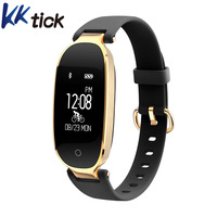 KKtick S3 Heart Rate Monitor Fitness Tracker Message Weather Call Reminder IP67 Waterproof Smartband Wristband For
