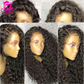 7A Front Lace Wigs Deep Curly Full Lace Human Hair Wigs With Baby Hair Brazilian Hair Lace Frontal Wig Lace Front Human Hair Wig