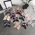 Wholesale 2Pair/Lot Popular Fall Winter Handmade Crystal Sequins Korean Ladies Heap Warm Socks Piles Heap Ladies Socks