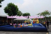 8x8x0.5m Big Outdoor PVC Inflatable Deep Swimming Water Pool Large Inflatable Swimming Pool For Kids