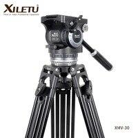 XILETU XMV 30 Professional Multi function Cinecamera Штатив для Sachtler видео регистраторы кино и ТВ Играть фильм и телевидение