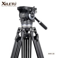 XILETU XMV 30 Professional Multi function Cinecamera Tripod For Sachtler Video Recorder Movie and TV play Film and Television