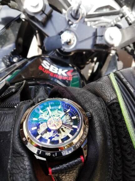 HTB16.KQXv1G3KVjSZFkq6yK4XXaz Forsining Motorcycle Design Genuine Black Belt Waterproof Skeleton Men Automatic Watches Top Brand Luxury Mechanical Male Clock