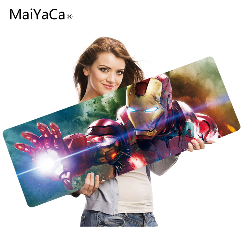 MaiYaCa Computer Speed Mouse Pads Avengers Kaneki Gaming Overlock Edge Mouse Pad Rubber  ...