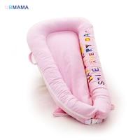 Портативный, успокоить кровать новорожденных путешествия складно игры кровать бампер Детские Bionic кровать моющиеся дышащая для ребенка