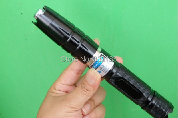AAA Shoot bird high powered 3w 3000mw 450nm blue laser pointers focusable burning torch Burning cigarettes+5 caps+charger+box
