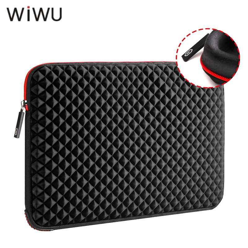 WIWU 13 13 3 15 15 6 17 17 3 inch Laptop Sleeve Waterproof Shockproof Black