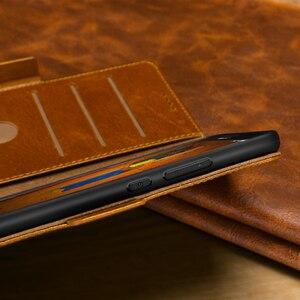 Image 5 - Huawei 社メイト RS 20 10 9 プロ革ケースヴィンテージ財布オートスリープ/ウェイクフォリオフリップカバーキックスタンド機能カードスロット