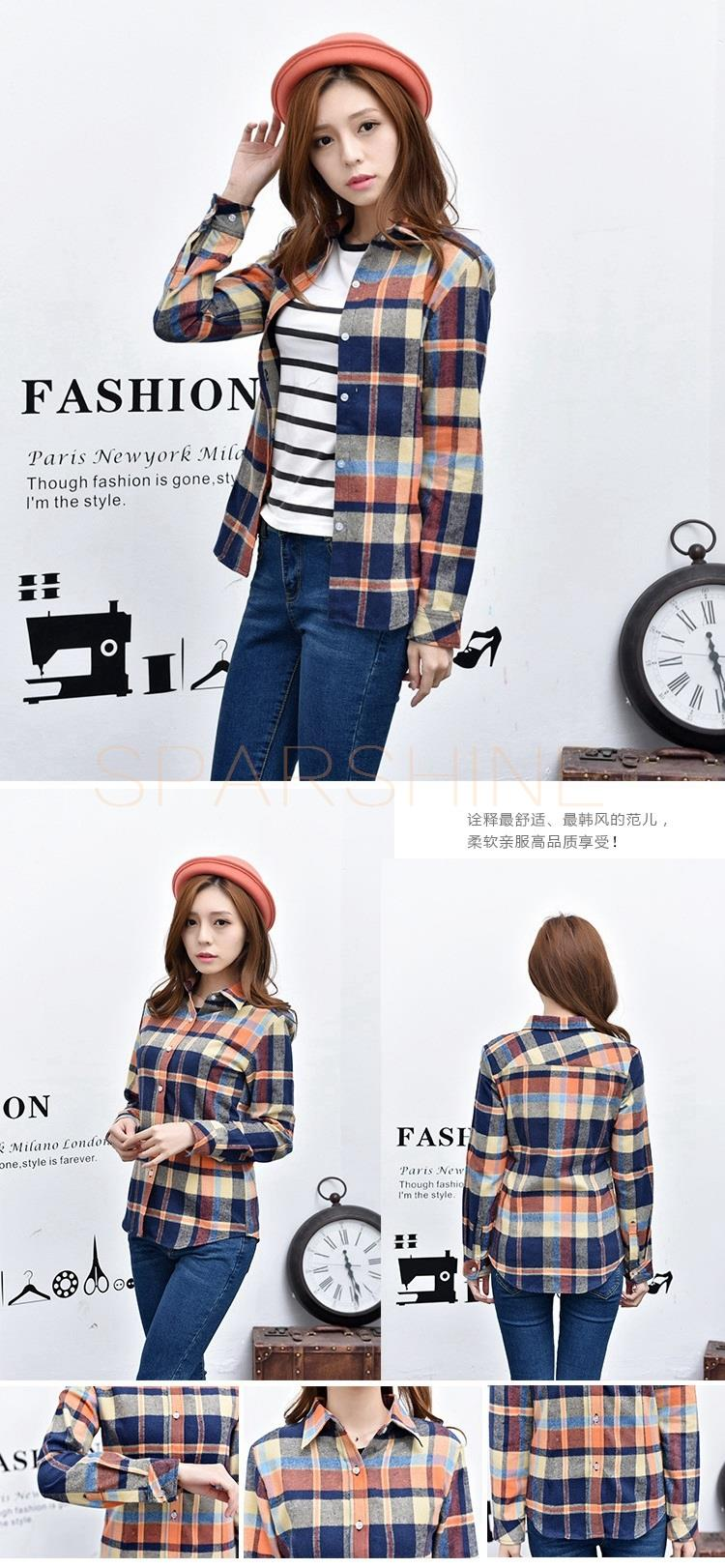 HTB16.LoLFXXXXaFXFXXq6xXFXXXu - Girl's Plaid Flannel Shirt PTC 67