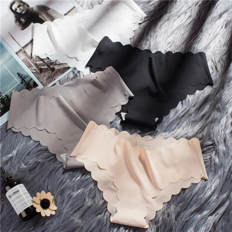 4 colors seamless underwear for women low rise   panties   ladies sexy lingerie woman intimate female casual briefs underpants 2018