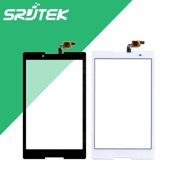 "For Lenovo Tab2 Tab 2 A8-50F A8-50LC Touch Screen Panel Digitizer Sensor Glass Black and White 8"" inch Tablet Replacement Parts"