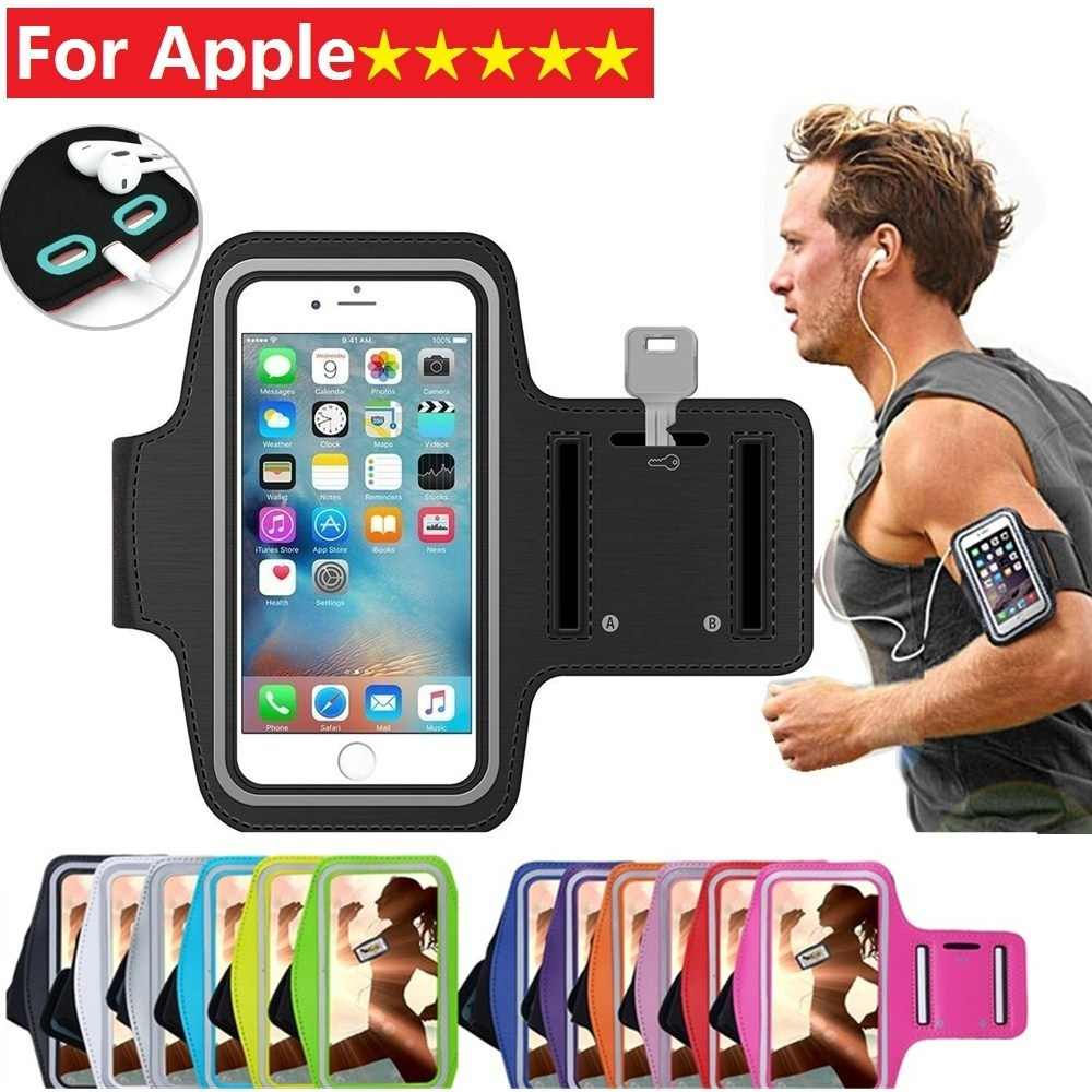 Tela Sensível Ao Toque Suporte Do Telefone Caso Correndo Jogging Sports Arm band Capa para iPhone Da Apple X XS MAX XR 5 6 7 8 6s Plus