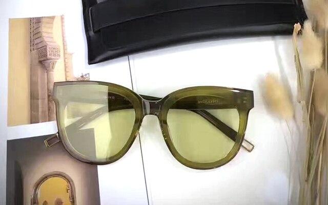 Gentle FLATBA Designer ladies sunglasses Multicolor Mirror In Scarlet sun glasses Vintage Female oculos sunglasses for women 6