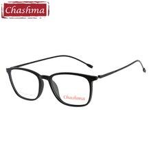 Chashma Brand Student Eyeglasses Optical lentes opticos mujer Glasses Frame Men TR90 Light Trend Prescription Spectacles