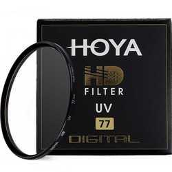 Цифровой УФ-фильтр Hoya HD, 8 слоев закаленного стекла с многослойным покрытием, 49 мм, 52 мм, 55 мм, 58 мм, 62 мм, 67 мм, 72 мм, 77 мм, 82 мм, Ультрафиолетовый