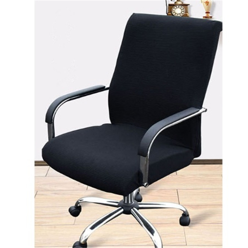 large size office computer chair cover arm chair cover recouvre chaise stretch rotating lift. Black Bedroom Furniture Sets. Home Design Ideas