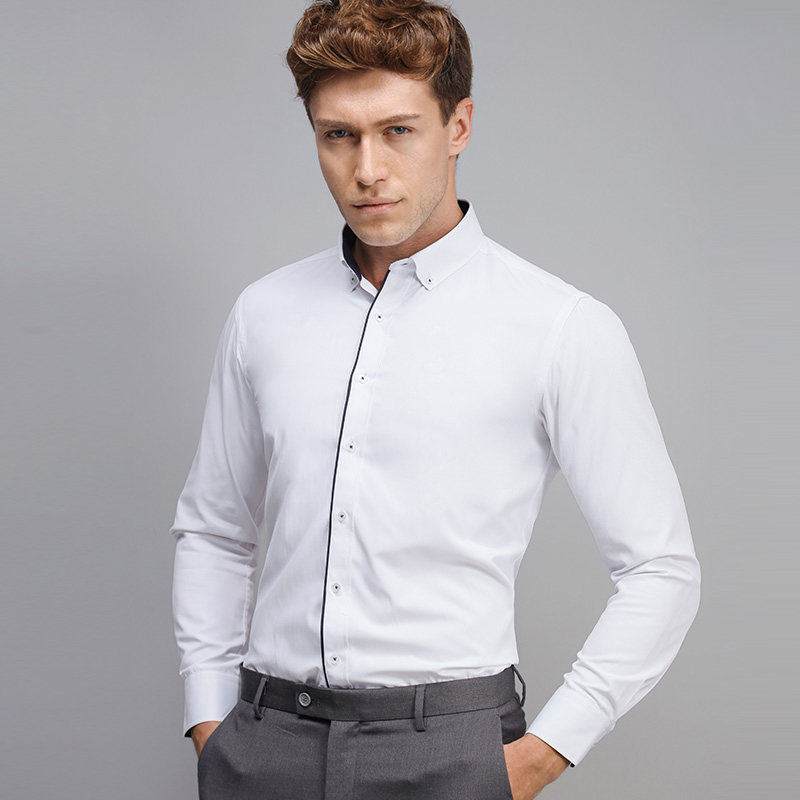 Online Get Cheap Men No Collar Button Down Shirt -Aliexpress.com ...