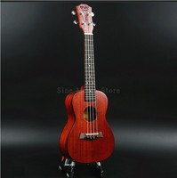 Rosewood Ukulele 23 inches Mahogany 4 strings Mini Guitar Concert 18 Fret Hawaiian Children Small Guitar Musical Instrument