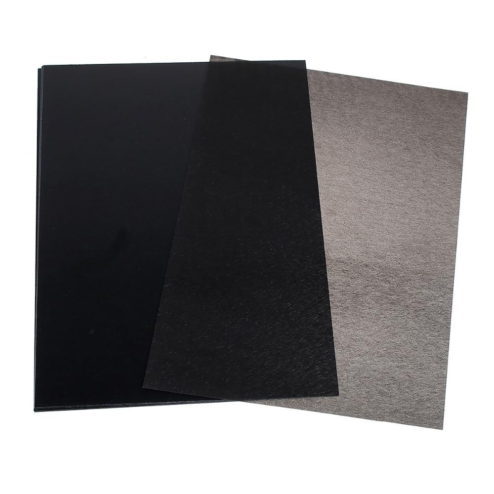 """Plastový obdélník, tepelně smršťovací, 29cm (11 3/8 """") x 20cm (7 7/8""""), 3 listy"""