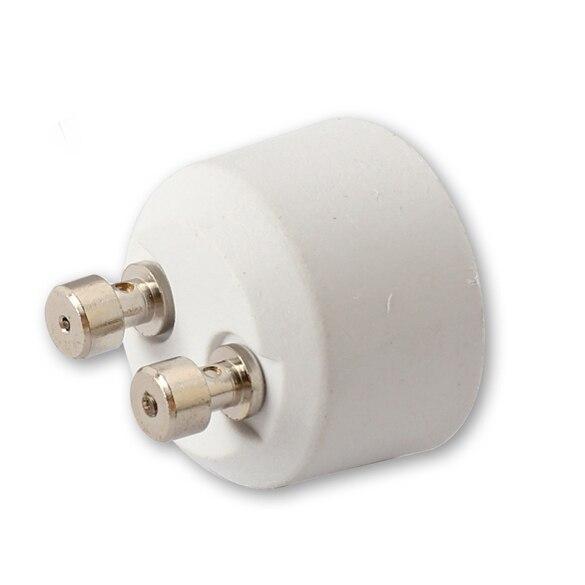 GU10( Female Socket ) to MR16 ( Male Plug ) Adapter Socket Base Halogen Light Bulb Lamp Adapter Converter Holder