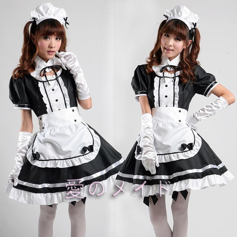 black Maiden cosplay in