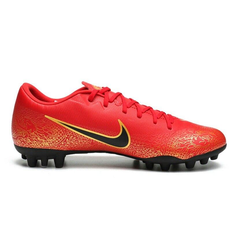 Оригинальное новое поступление 2018, мужские футбольные кроссовки для CR7, AG R, NIKE VAPOR 12 ACADEMY - 2