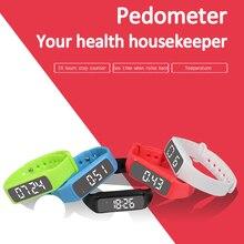 Haoba Спорт Смарт часы-браслет 3D шагомер Фитнес отслеживание сна Мониторы светодиодный цифровой браслет для мальчиков и девочек идеальный подарок