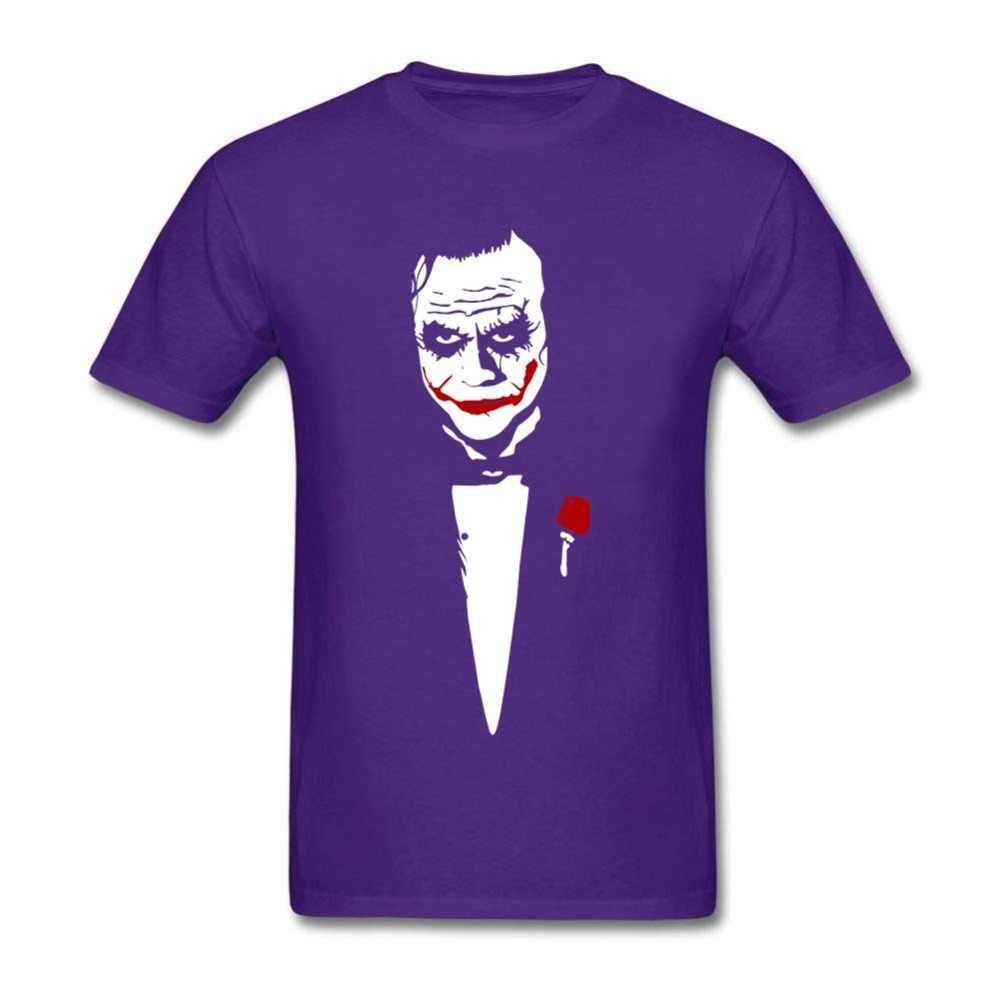 Забавные футболки для мужчин Джокер отец с винтовым горлом Джокер Отряд Самоубийц рубашки повседневная одежда топы
