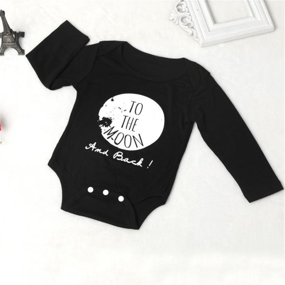 LONSANT Bodysuit Newborn Infant Kids Baby Boy Girl Outfit Clothes Long Sleeve Baby Clothes Dropshipping Wholesale