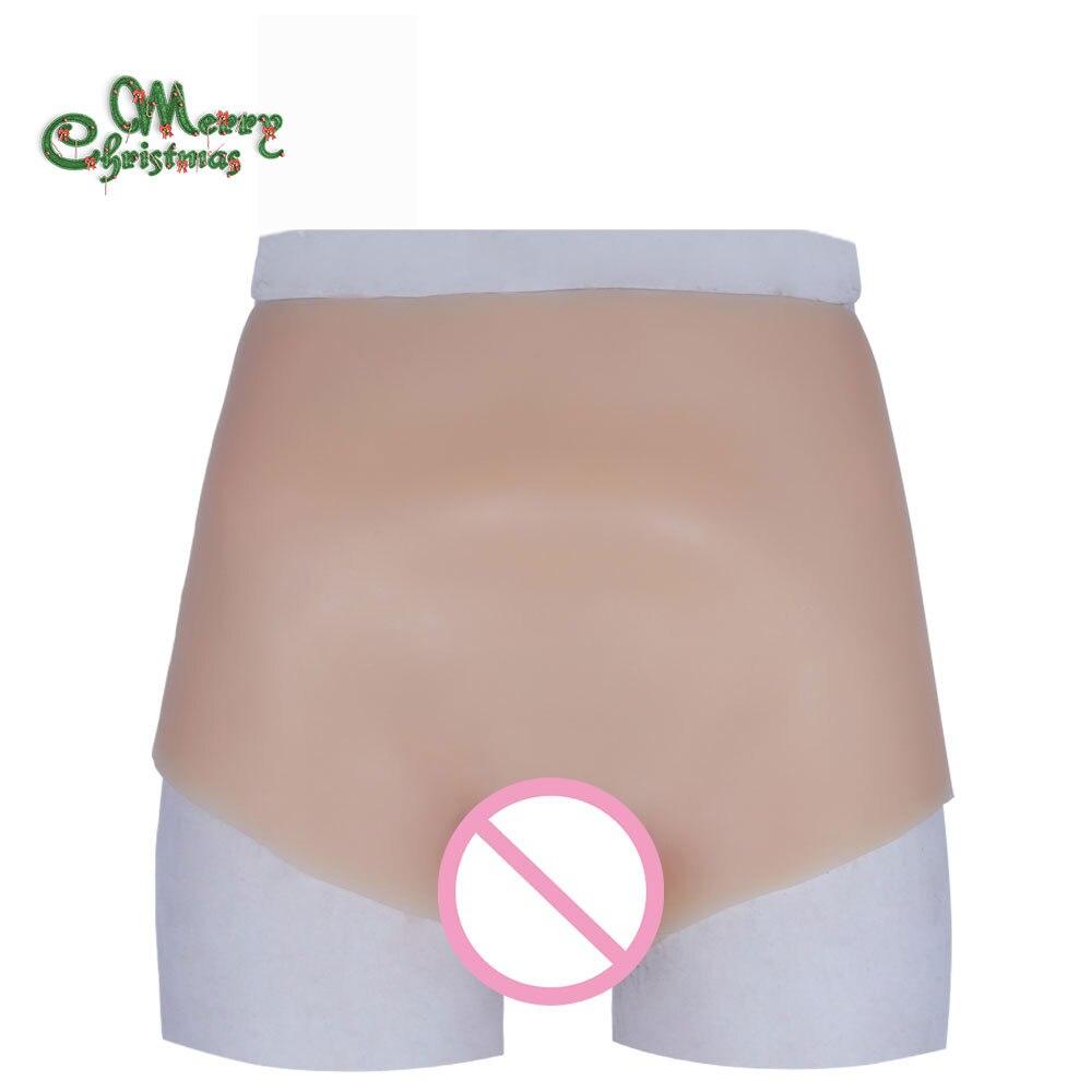La vagina di Silicone breve per crossdresser maschio a femmina giocattoli transgender hot hip falso figa biancheria intima per drag queen migliore di vendita