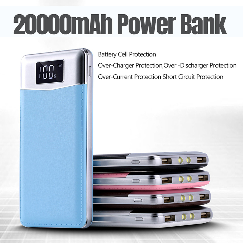 20000mah Power Bank Fast Charger For Huawei iPhone Samsung Huawei Android Smart Phone Portable Battery Powerbank for iphone 11
