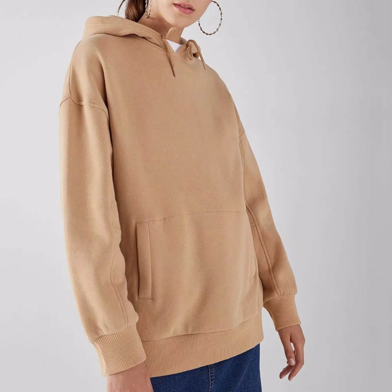 JXYSY hoodies women harajuku cotton hooded solid none pollovers regular oversize sweatshirt plus size tops